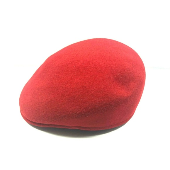 9583fd13b Stetson Mens Cuffley Cap Red XL Made in England 10
